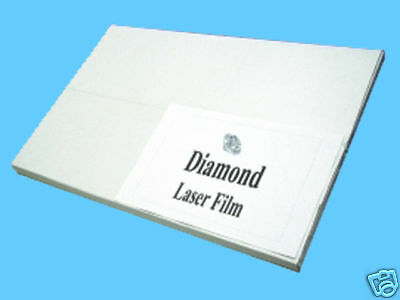 Diamond Laser Polyester Film 8.5 X 14 For Screen Printing Plate Burning