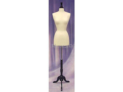 Size 2-4 Female Mannequin Manikin Dress Form F24w-jf Bs-02bkx