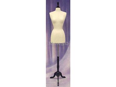 Size 2-4 Female Mannequin Manikin Dress Form F24w-jf Bs-02bkx