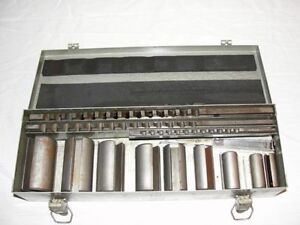 This is a Threadwell No. 2 Keyway Broach Set. London Ontario image 1