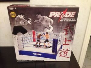Pride Wrestling Ring  (affordable WWE ring substitute0