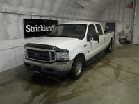 2003 FORD LIGHT DUTY F350 SD LARIAT CREW