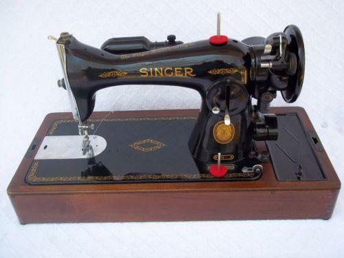 Singer 4040 Machines EBay Simple Antique Singer Sewing Machine Model 15 91