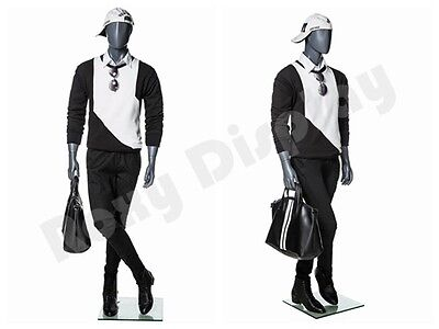 Male Fiberglass Abstract Style Mannequin Dress From Display Mz-mg001