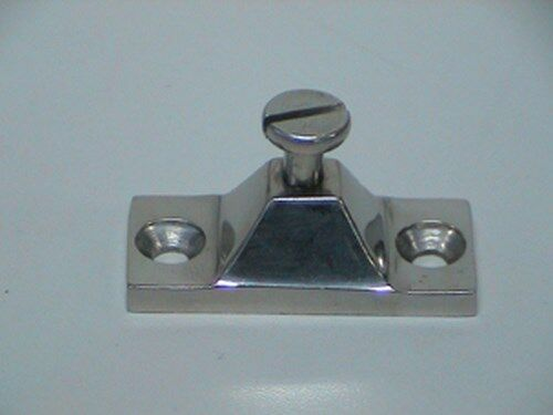 "Pack 4 Stainless Steel Deck Hinge Marine Bimini Top Canopy Fitting 2/"" x 7//8/"""