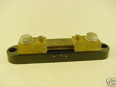 Transducer Sensor Dc Current Shunt S 30 75 100 200 250 Amp