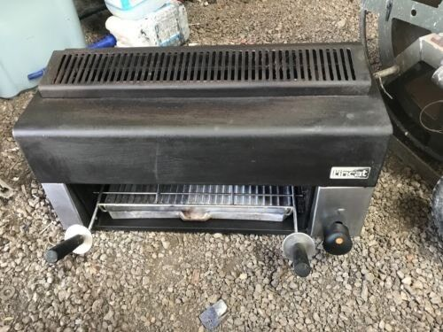 Lincat salamander gas with griddle plate top of the range