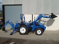 Wanted Compact tractor with front loader/back hoe