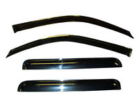 Vent Window Shade Visor Rain Guards for Ford F150 Extended Cab