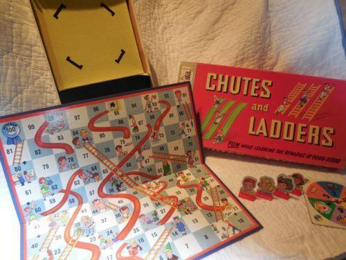 Chutes And Ladders Family Games Ebay