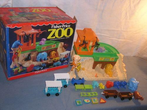 Vintage Fisher Price Zoo Ebay