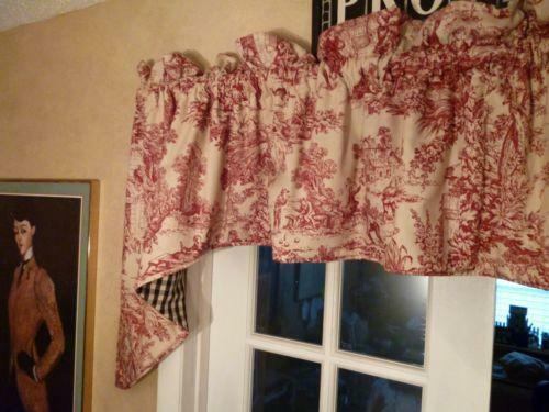French Country Valance Ebay