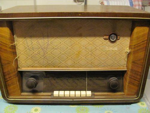 altes radio nordmende radios ebay. Black Bedroom Furniture Sets. Home Design Ideas