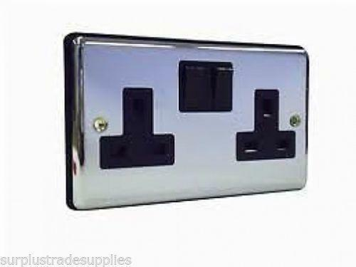 Polished Chrome Electrical Sockets Ebay