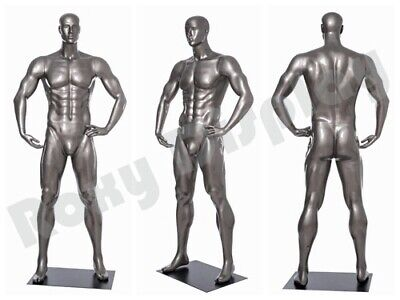 Male Mannequin Muscular Football Player Dress Form Display Mc-brady07