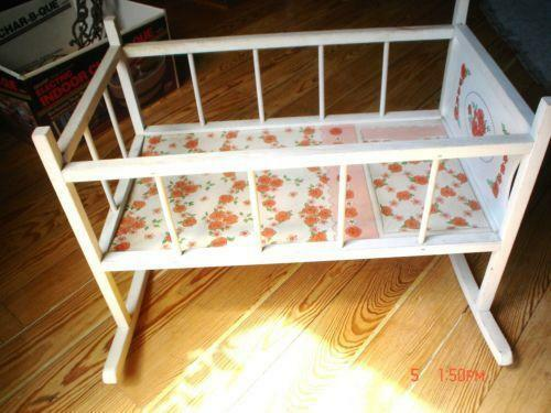 Vintage Baby Doll Bed Ebay