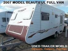 2007 MODEL 18' FULCHER FULL CARAVAN WITH GALVINISED CHASSIS. Heathcote Sutherland Area Preview