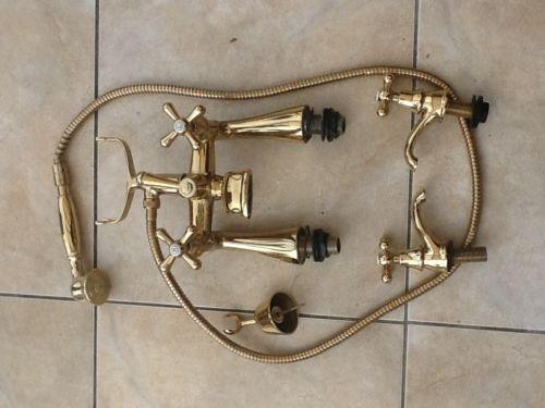 Gold Bath Mixer Taps EBay