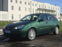 Great Runner, Ford Focus Zetec with fantastic running 1.8L TDCi Engine and tow bar