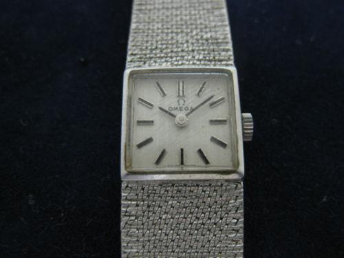 Omega White Gold Ladies Watches Ebay