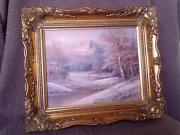 Winter Scene Paintings