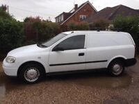 Vauxhall Astra Van Rear crew seats 2005 White 1.7 Cdti Euro 4 many new parts non runner for export
