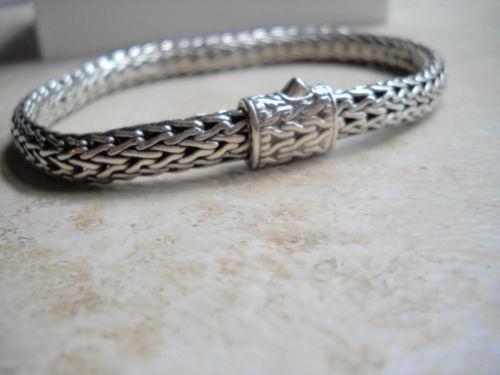 John Hardy Sterling Bracelet Ebay