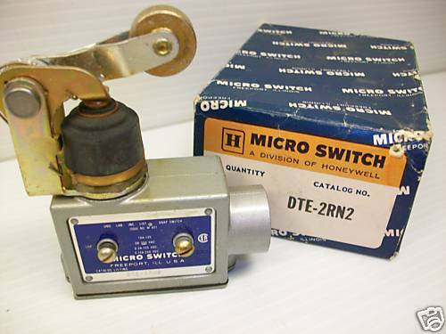 **NEW IN BOX** HONEYWELL DTE-2RN2 MICRO SWITCH MICROSWITCH DTE2RN2