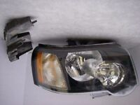 Left hand drive European headlights Freelander I facelift 2004 2005 2006 LHD for MOT TUV APK CT ITV