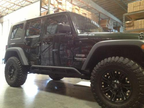 Jeep Rock Sliders Exterior Ebay