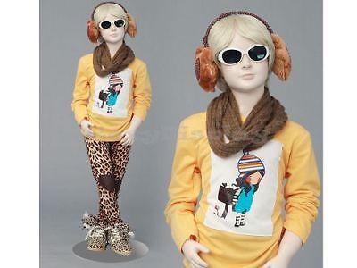 Child Fiberglass Cute Realistic Mannequin Dress Form Display Mz-ita3