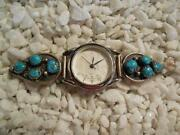 Turquoise Watch Cuff