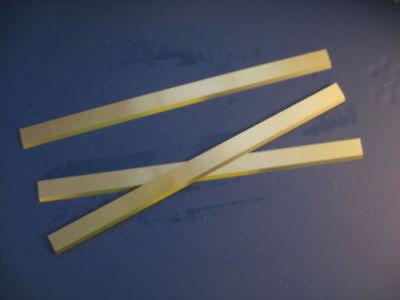 High Speed Steel Planer Knives 15 X 1 X 18 Grizzlydeltajet Powermatic New