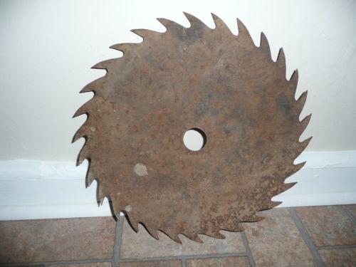 vintage saw blades