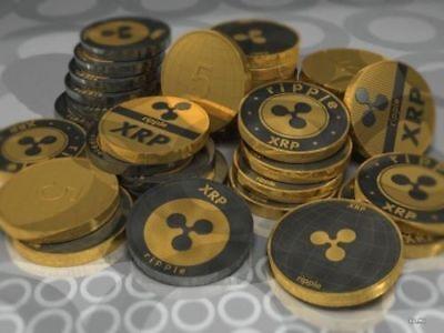 1X Official Rare Physical Commemorative Coins Collectible Ripple Coin Xrp Coin