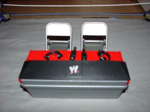 wwe table accessories sports ebay. Black Bedroom Furniture Sets. Home Design Ideas