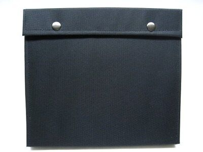 CARRY ALL Black 24 Knife Storage Pack VELVET Lined Protector CASE AC116 New!
