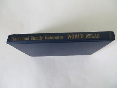 WORLD ATLAS HAMMOND FAMILY REFERENCE BYHAMMONDINCORPORATED HC