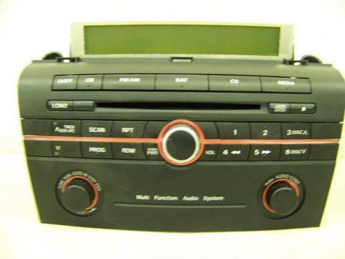 2006 Mazda 3 Radio Ebay
