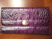 Used Purple Wallet