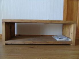 MADE TO ORDER Rustic Handmade TV Stand/ Coffee Table/ - Many Sizes