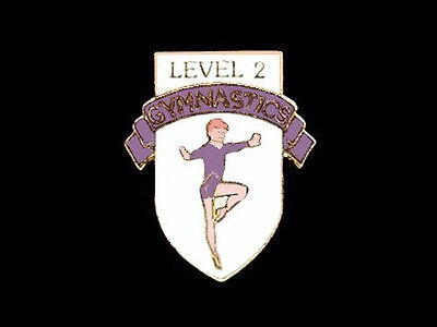 Level 2 Gymnastics Lapel Pin - GETTING BETTER AND IT SHOWS!