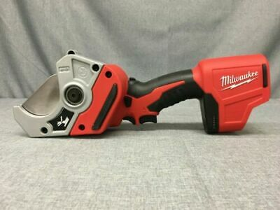 Milwaukee M12 2470-20 Redlithium Cordless Plastic Pipe Shear Only Tool-