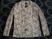 Mens Floral Jacket