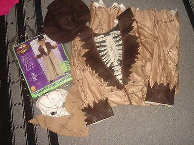 Tombstone Costumes (RUBIES TOMBSTONE COWBOY L 12-14)