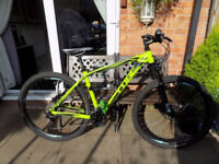 cube attention 29 er comp hard tail mountain bike great condition