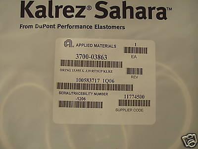 Dupont Dow Kalrez Sahara O Ring  Amat 3700 03863