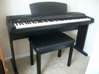 Yamaha Digital Piano YPP-200, Full size 88 keys, comes with stand, sustain pedal