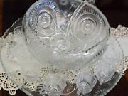Vintage Punch Bowl Set