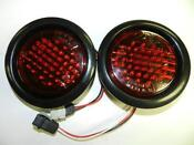 Round LED Trailer Tail Lights